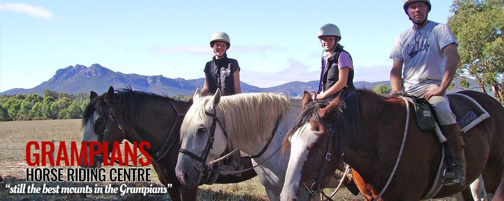 Grampians Horse Riding - The Grelco Run Accommodation